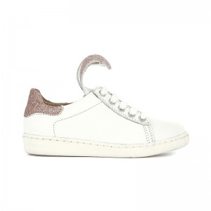 Basket Ducky Lapin cuir blanc