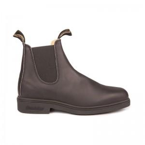 Boots Chelsea Dress cuir noir