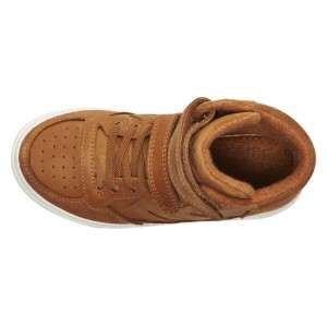 Basket montante Stadil velcro cuir Oilde Camel