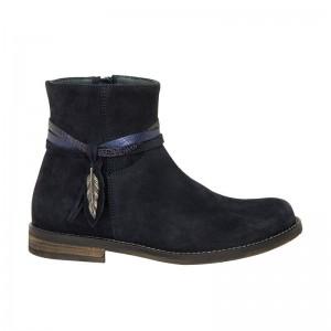 Boots Kendal peau marine