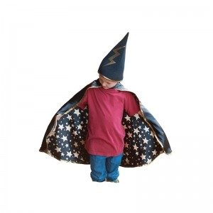 Cape Wizard Merlin 4/6 ans