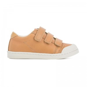Basket Ten C lo 3 cuir camel