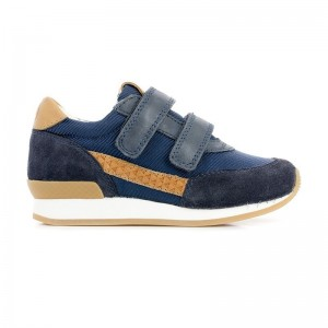Basket Ten Jog Line navy/camel