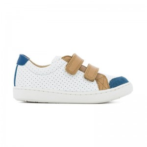Basket Play scratch White/Roy/Camel