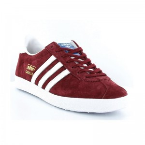 Basket Gazelle lacets Bordeaux
