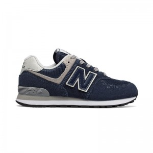 Basket New Balance GC574 lacets navy