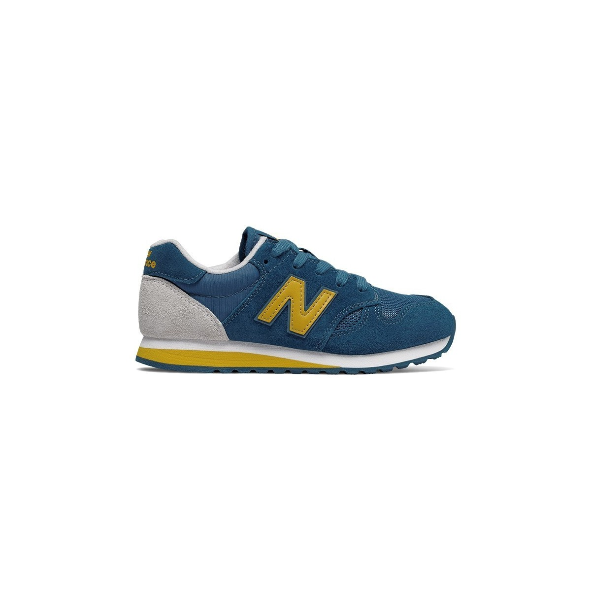 Basket New Balance KL520 lacets blue/yellow