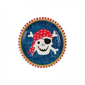 Assiettes Pirates