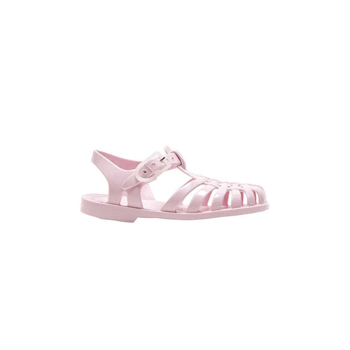 Sandale Méduse rose pastel