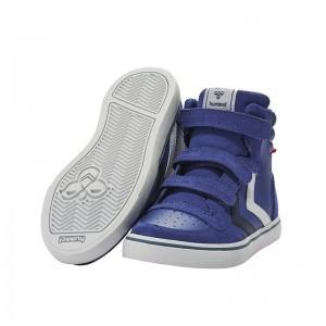 Basket montante Stadil velcro cuir Sodalite Bleu