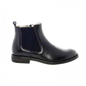 Boots Acebos Chelsea élastique marine