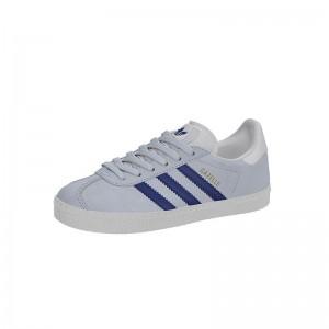 Basket Gazelle lacets bleu aero