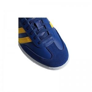 Basket Samba cuir bleu encre
