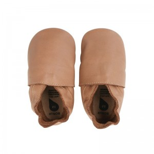 Soft Sole Bobux Simple Shoe Caramel
