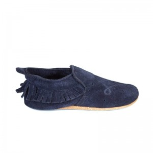 Soft Sole Bobux Trim Mocassin Navy
