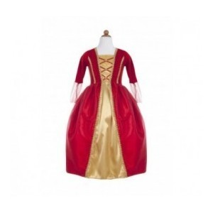Robe Royale rouge 7/8
