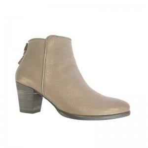 Boots Natal cuir marron glacé