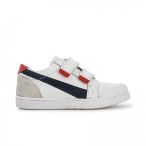 Basket Ten Win Clay White/Red/Navy