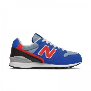 Basket New Balance 996 Lacets Bleu/rouge