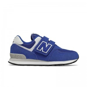 Basket New Balance 574 velcros North sea