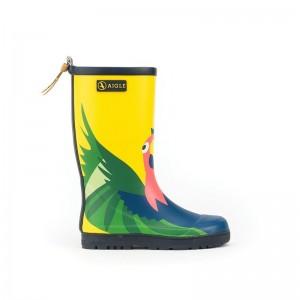 Bottes de pluie Aigle Woodypop Perroquet