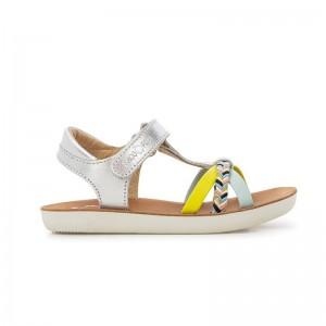 Sandale Goa Salome Silver/Sky/Lemon