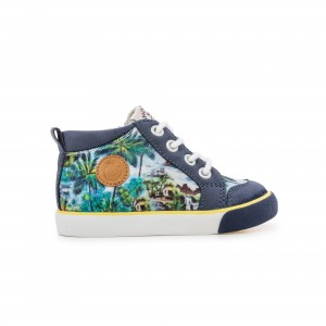 Bottillon BB Zip Print Mahalo mult/navy