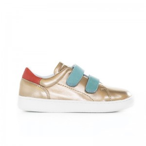 Basket Moonwalk Gold/aqua/coral