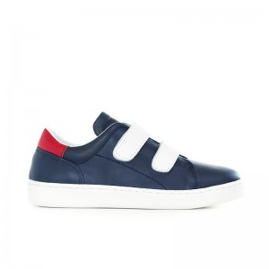 Basket Moonwalk navy/whit/red