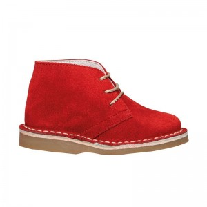 Desert boot rouge