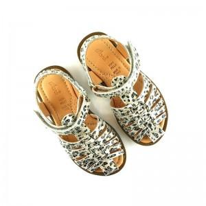 Sandale Ocra 990 Cheetah cuir Léopard