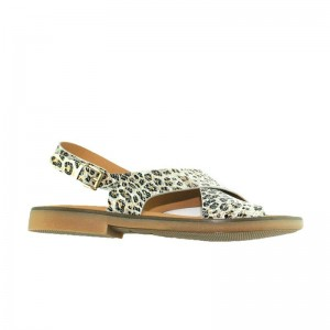Sandale Ocra 936 Cheetah cuir Léopard