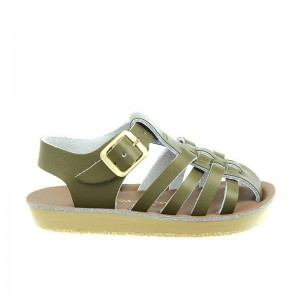 Salt Water Sailor cuir olive