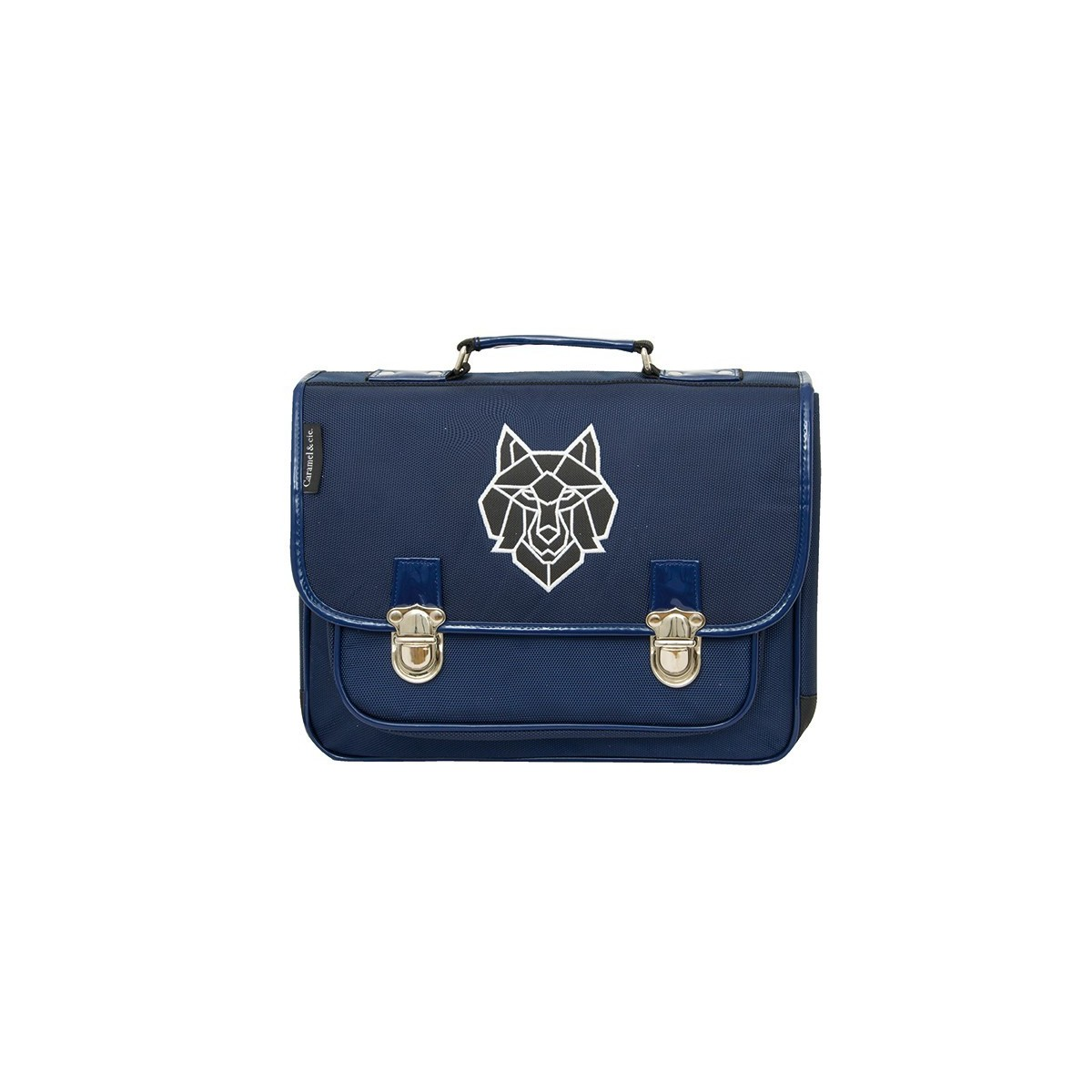 Cartable GM Loup Gris