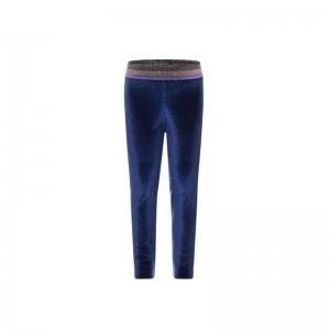 Leggin Aérobic velour blue