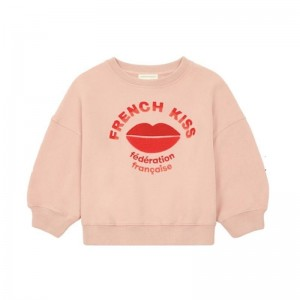 Sweatshirt French Kiss pink