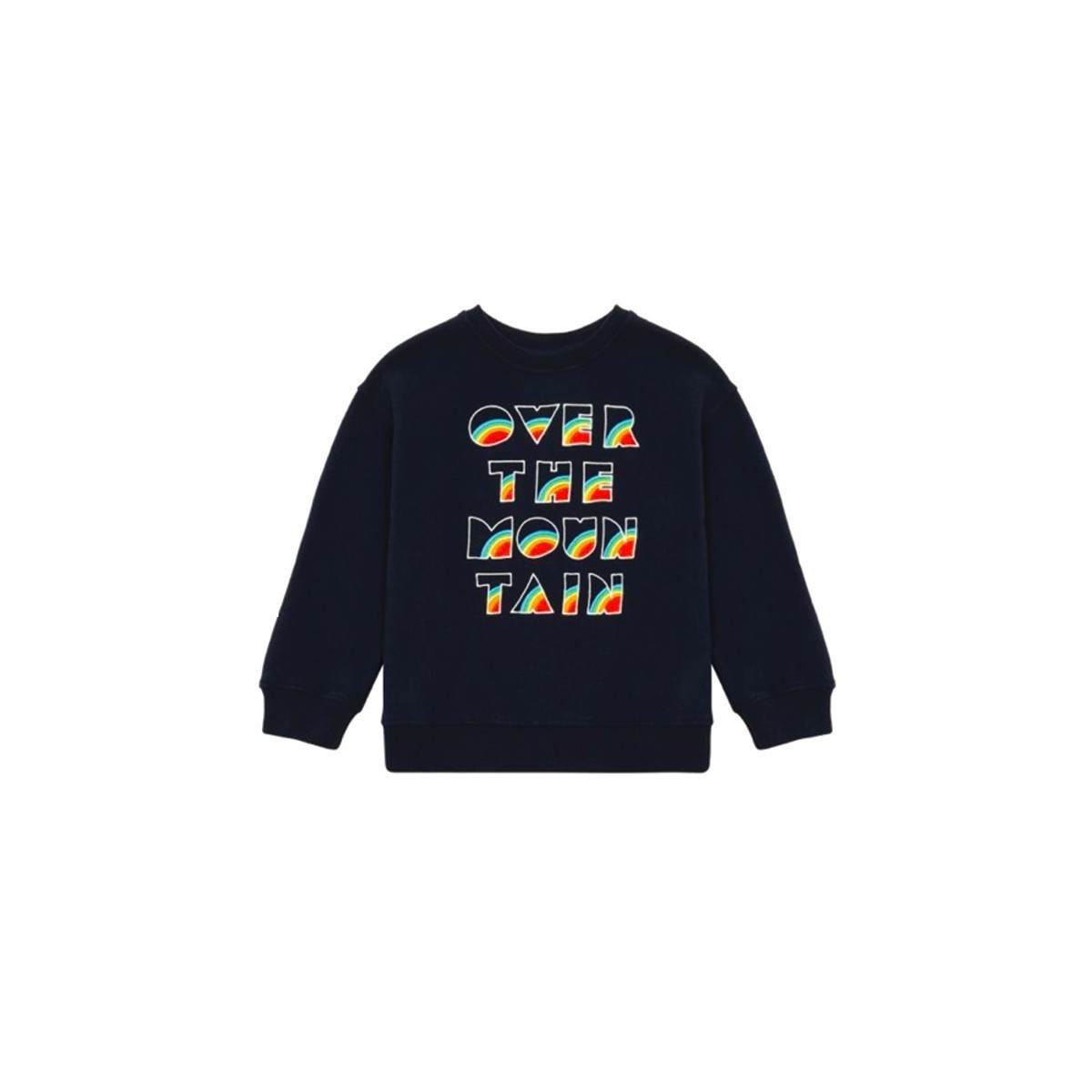 Sweatshirt Over the Moutain blue