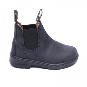 1325B KIDS BLUNNIES BOOT BLACK RUSTIC