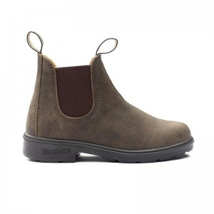 Boots Blundstone kids Blunnies boots Rustic Brown