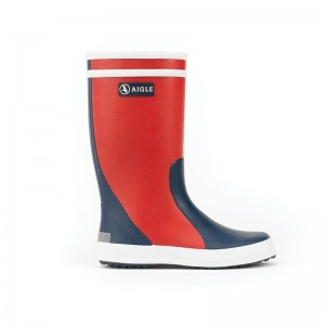 Botte de pluie Aigle Lolly Pop Rouge/indigo