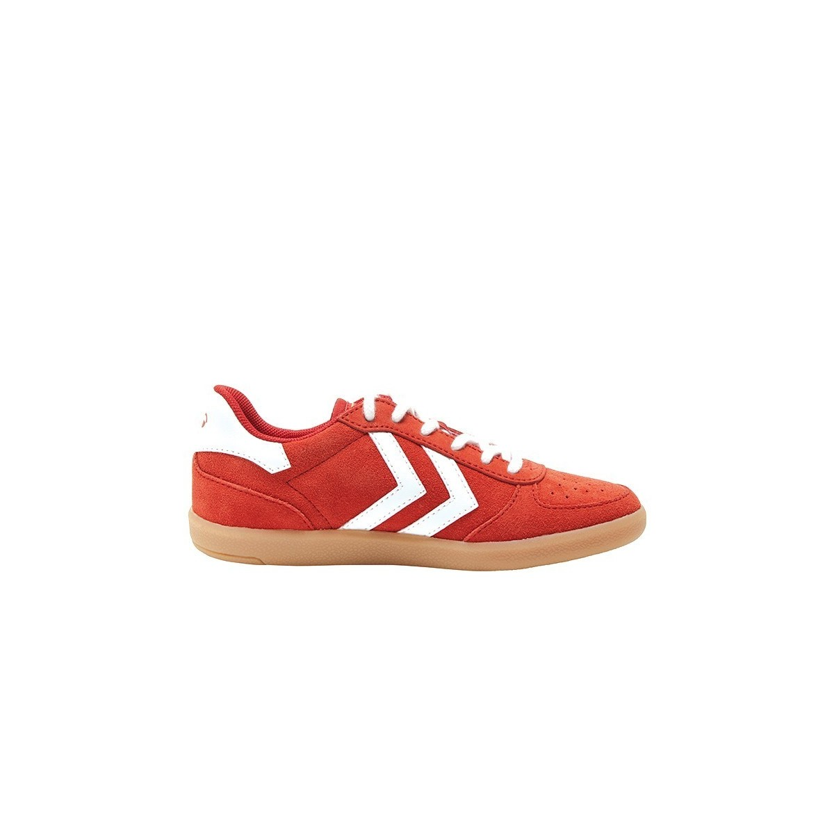 Basket basse Victory lacets Deep Rouge Poinsetta
