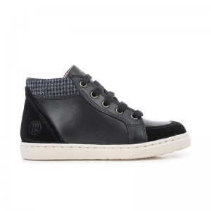 Basket Ten base Lace Nappa Black