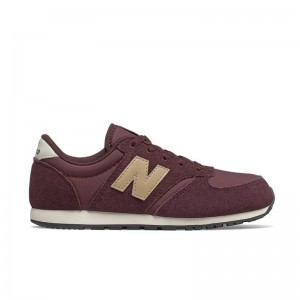 Basket New Balance lacets SA Burgundy