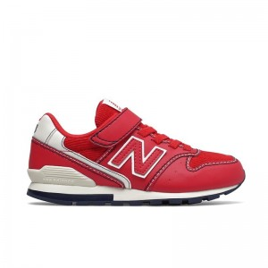 Basket New Balance velcro Red/Navy