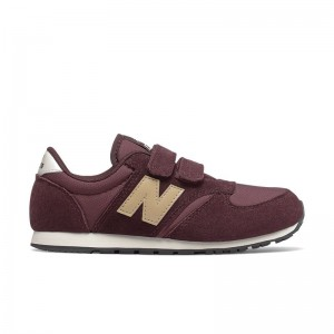 Basket New Balance velcro SA Burgundy