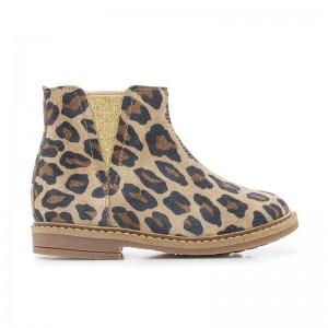 Boots RETRO safari nougat/platine