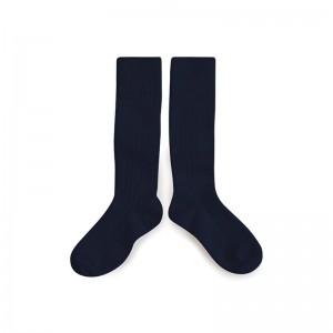 Chaussettes hautes Noir Charbon