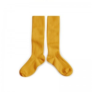 Chaussettes hautes Miel Doré