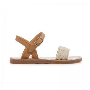 Sandale Plagette Buckle Tao...