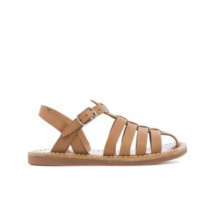 Sandale Plage Stich Papy Camel